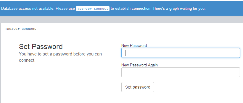 New password at first login attemp